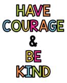 Kindness Bulletin Board Letters