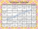 Kindness Calendar (Editable)