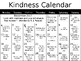 Kindness Calendar *Editable*