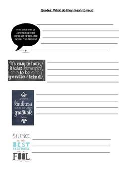 Kindness Camp (Editable)