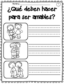 Kindness Campaign in Spanish