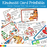 Kindness Card Printables- Winter Themed