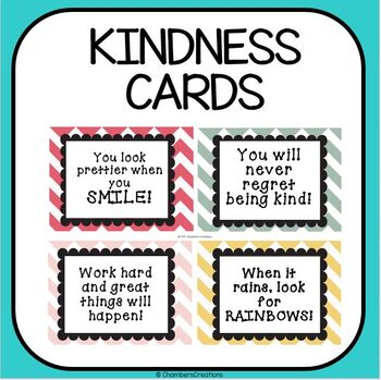 Kindness Cards!