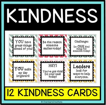 Kindness Cards!