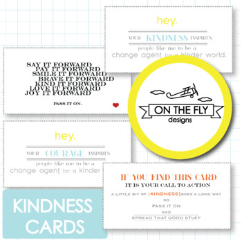 Kindness Cards {Freebie!}