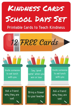 graphic about Kindness Cards Printable titled P It Upon Kindness Playing cards Worksheets Training Elements TpT