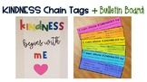 Kindness Chain Tags & Bulletin Board for Charity