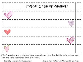 Kindness Chains