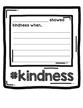 Kindness Challenge 2018 - Writing Activities, Awards, Posters, and more!
