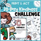 Kindness Challenge {Mindfulness for Kids/ Mindfulness Journal/ PDF}