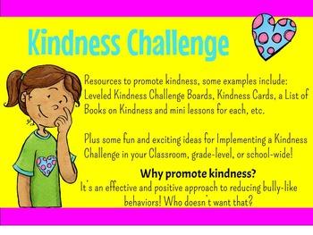 Kindness Challenge Packet