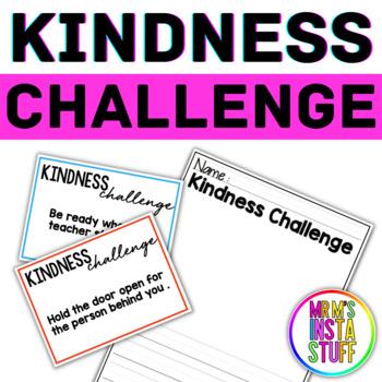 Kindness Challenge Cards - Kindness BUNDLE ( Random Acts of Kindness )