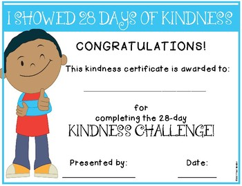 Kindness Challenge {Promoting Kindness in the Classroom}