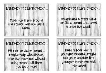 Kindness Challenge - Tropical Theme