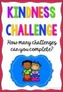 Kindness Challenges Activity Freebie