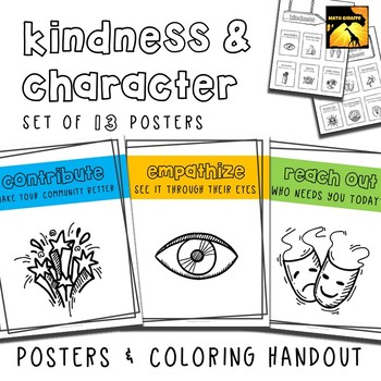 Kindness & Character Posters