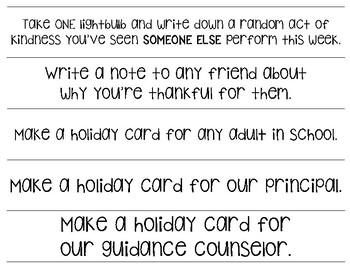 Kindness Christmas Countdown