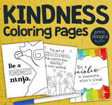 Kindness Classroom Coloring Pages • Positive Coloring • Ki
