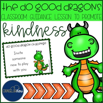 Kindness Classroom Guidance Lesson Activity Pack - Element