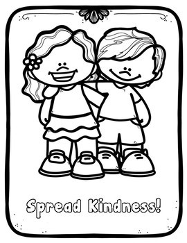 Kindness! Classroom Guidance Lesson on Kind Words & Kind Friends
