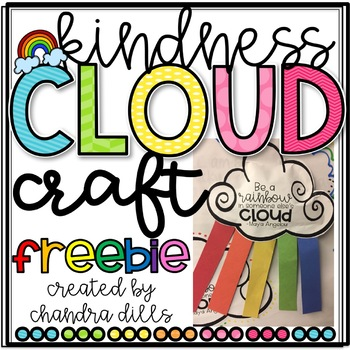 Kindness Cloud Craft