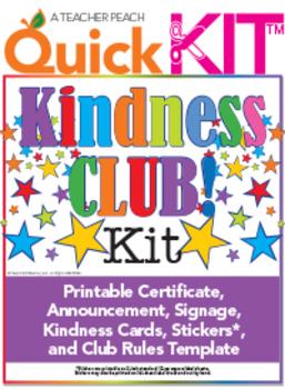Kindness Club Quick Kit™