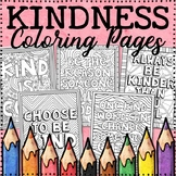 Kindness Coloring Pages | Kindness Posters | Distance Learning Coloring Pages