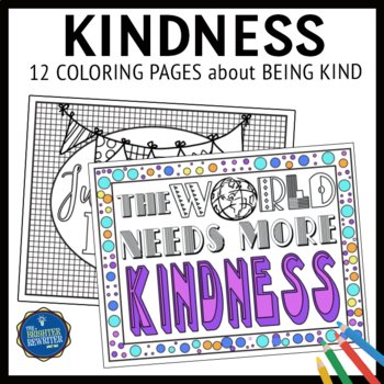 Kindness Coloring Pages - Coloring Home | 350x350