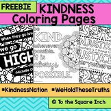Kindness Coloring Pages #KindnessNation #WeHoldTheseTruths