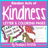 Random Acts of Kindness Letter & Kindness Coloring Pages /