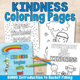 KINDNESS COLORING PAGES Kindness Activities or Kindness Bu