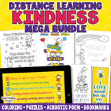 KINDNESS COLORING PAGES Word Search Bookmarks - Distance L