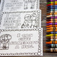 Kindness Coloring Pages with I Can Statements