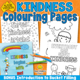 Kindness Coloring Page Activities | Kindness Posters for Bulletin Boards - A4