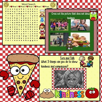 Kindness & Compassion SMARTboard Activities