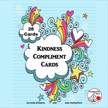 Kindness | Compliment TASK CARDS for the Entire Year | Cha
