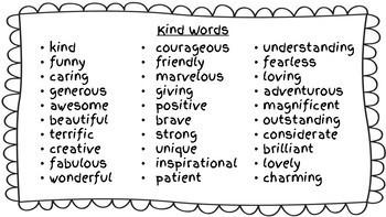 Choose Kind - Kindness Compliments