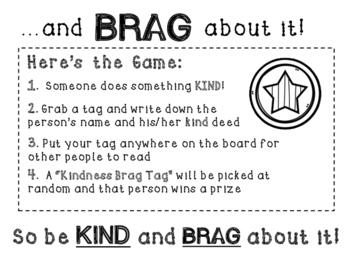 Kindness Bulletin Board Kit -- Interactive Confetti