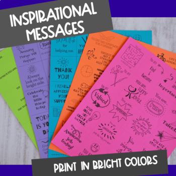 Kindness Confetti Cards