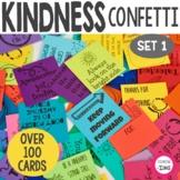 Kindness Confetti Cards- Kindness Activity