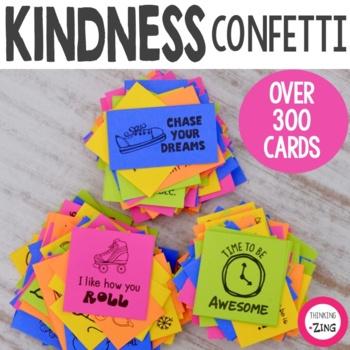 Kindness Confetti Cards Bundle - Sets 1 , 2 & 3