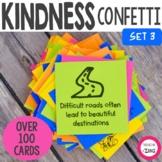 Kindness Confetti® Cards - SET 3- Kindness Activity