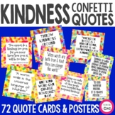 Kindness Quote Cards and Kindness Posters | Kindness Confetti®