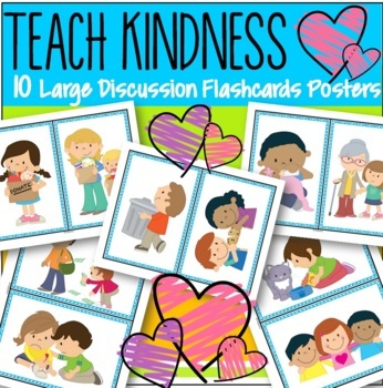 Kindness Conversation Starters Preschool #KindnessNation