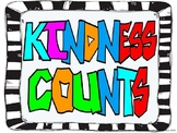 Kindness Counts Poster~FREEBIE!