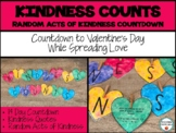 Kindness Counts Random Acts of Kindness Countdown