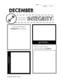 Kindness Counts: Sample Monthly Worksheet