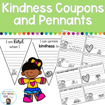 Kindness Coupons and Pennants