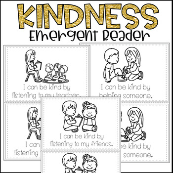 Kindness Emergent Reader Mini Book