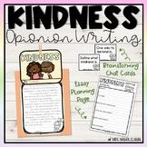 Kindness Essay Writing & Activities